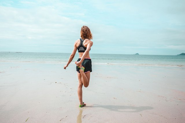 Hit the sand and boost the intensity of your workout.