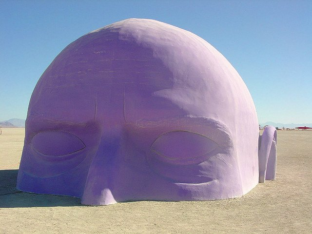 Dreamer by Pepe Ozan at Burning Man 2005.