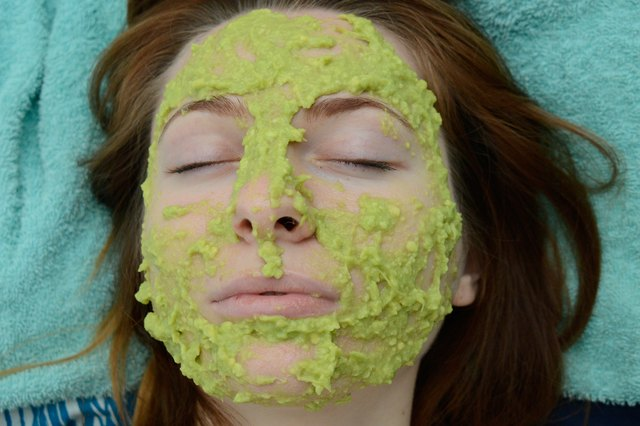 how to make an avocado facial mask livestrong com. Black Bedroom Furniture Sets. Home Design Ideas