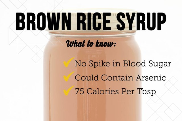 Getty Images - Brown Rice Syrup