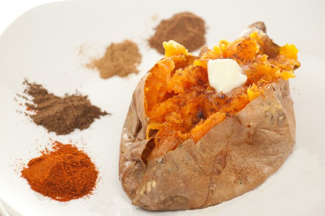 How to Bake Sweet Potatoes at 400 F