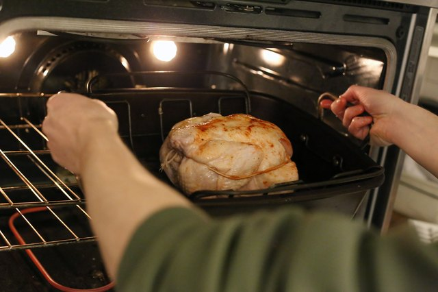 How to Cook Rotisserie Chicken in a Conventional Oven