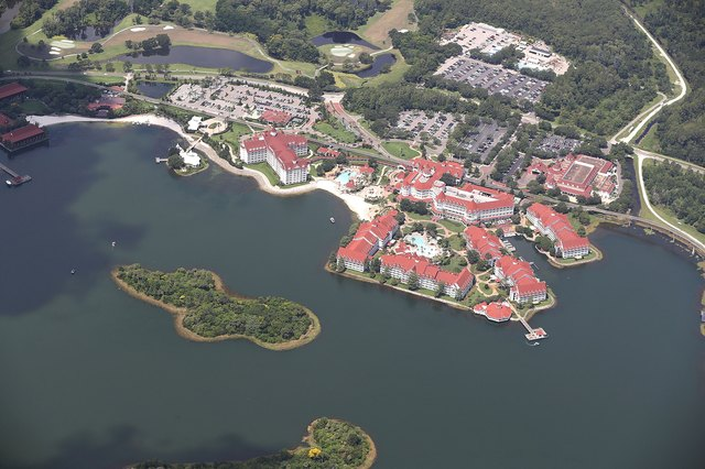 In 2016, an alligator fatally snatched a 2-year-old boy from the beach of this Walt Disney World resort in Orlando.