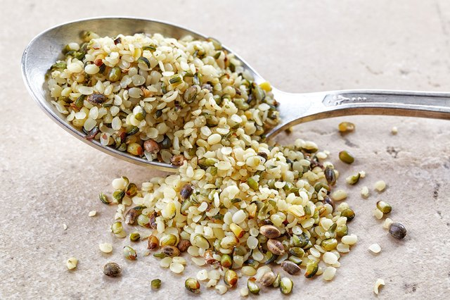 Hemp seeds add a nutty flavor and healthy omega-3s to your meal.