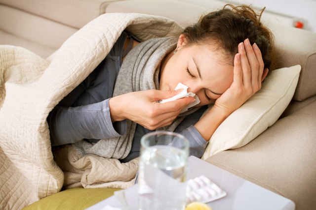 Your cold is contagious the entire time you have symptoms.
