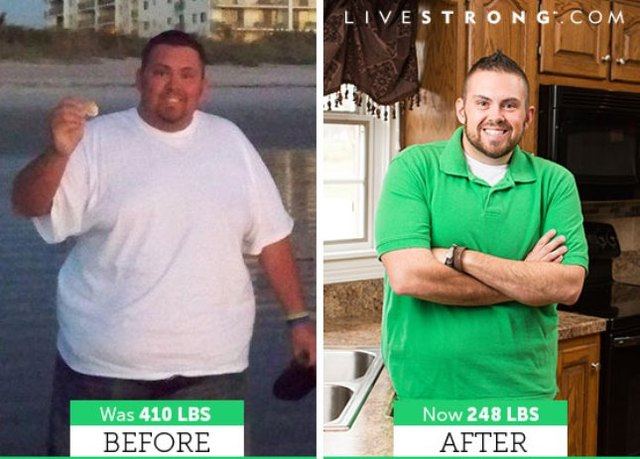 Bobby lost 162 pounds and dropped nine sizes!