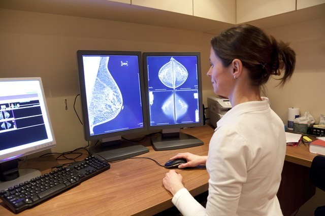 Too much caffeine may create cysts in the breasts, leading to mammogram inaccuracies.