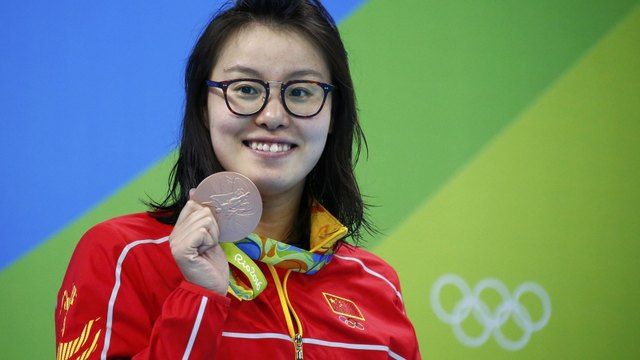 Fu Yuanhui recently made headlines when she openly discussed her period at the 2016 Olympics.