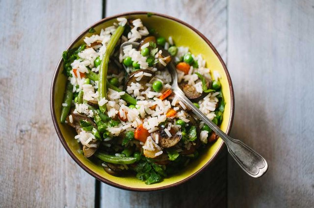 Try a veggie stir-fry with coconut oil.