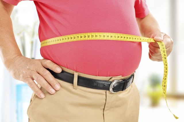 Waist measurements can be an indicator of excess visceral fat.