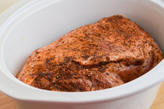 How to Cook a Boston Butt in a Crock Pot for a BBQ