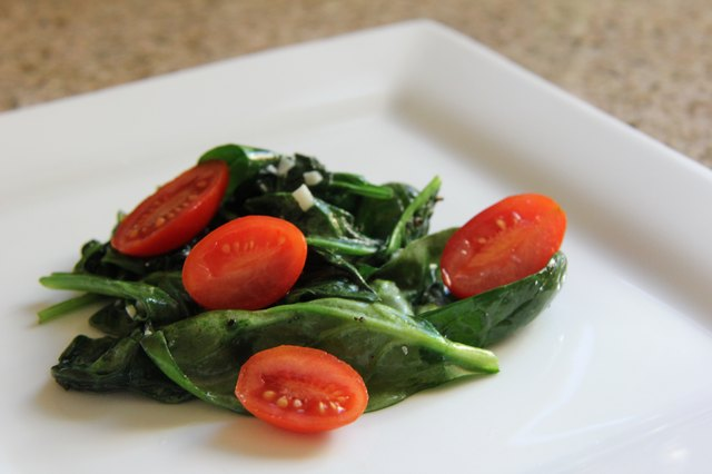 Healthy Ways to Cook Baby Spinach