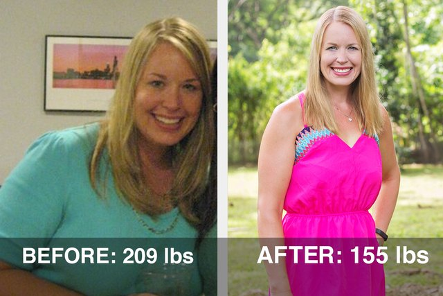 Lori lost 54 pounds with the help of MyPlate.
