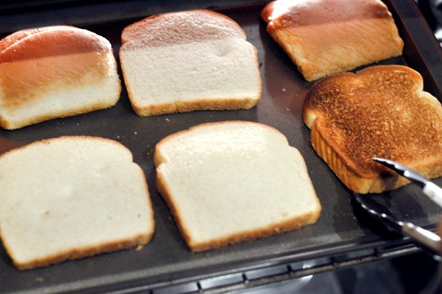 How to Cook Toast in an Oven