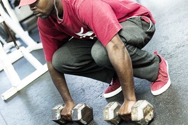 How to Set Up for Deadlift With Dumbbells