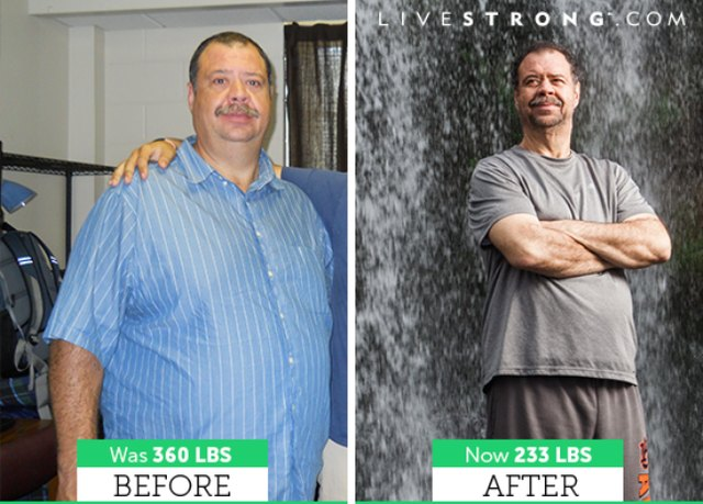 Michael lost 127 pounds and dropped six sizes!