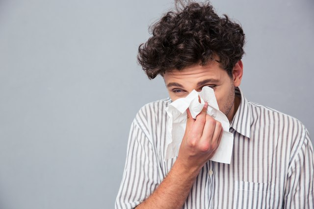 Sinus infections are contagious through coughing and nose blowing.