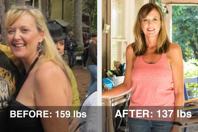 Ruth transformed her body through strength training.