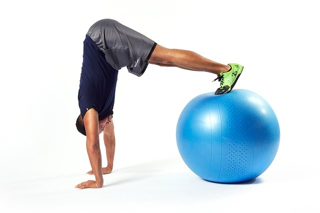 You'll need a ton of core stability to stay on the ball.