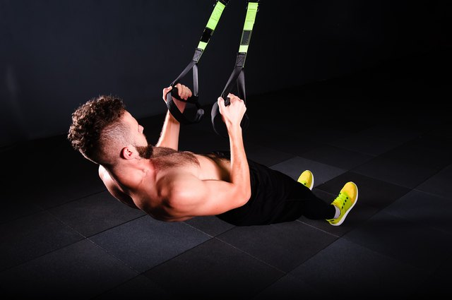 Using a suspension system is an easy way to do inverted rows.