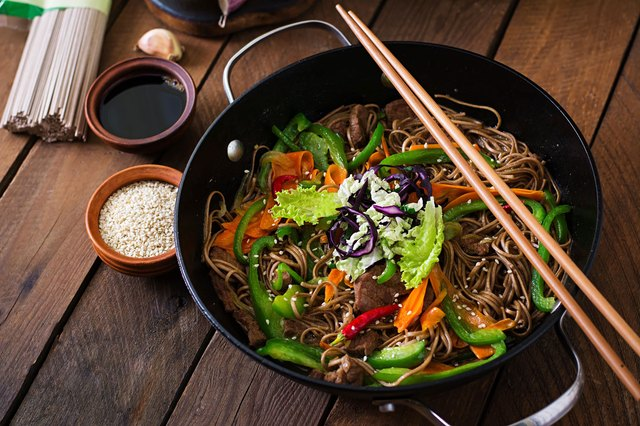 Soba noodles are a great healthy swap for traditional pasta.