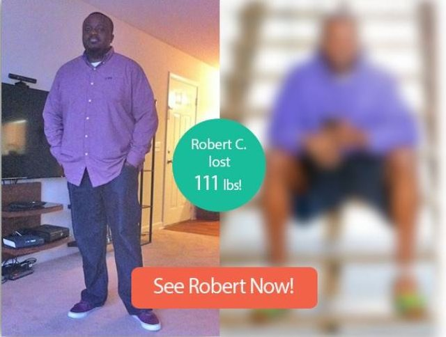 Read on to see Robert's impressive transformation.