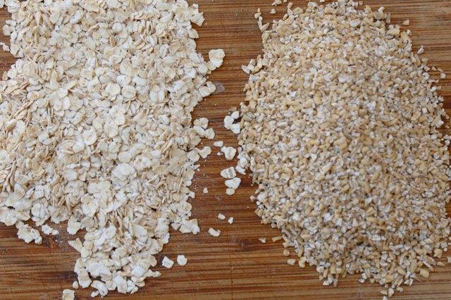 steel cut oats vs 100 percent whole grain rolled oats
