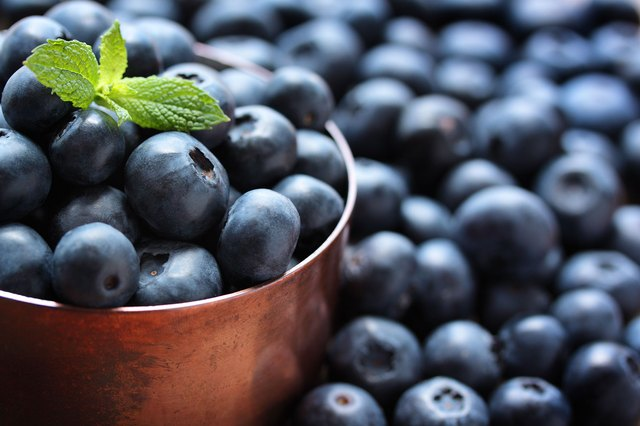 Blueberries are packed with antioxidants.