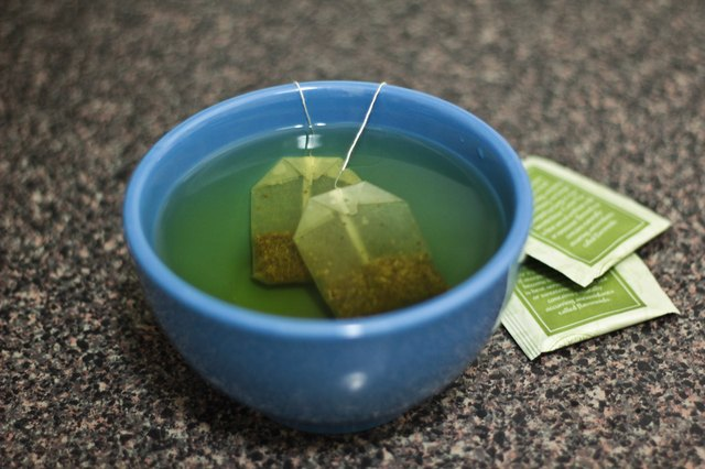 How to Wash My Face With Green Tea