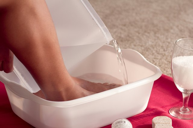 How to Soak Dry Cracked Feet