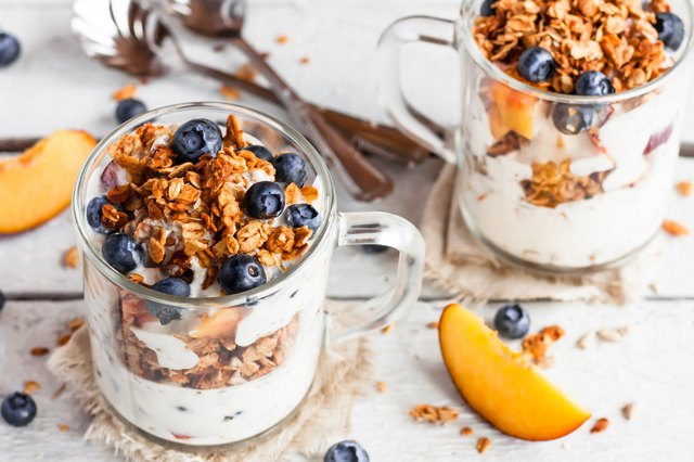 Probiotic foods, such as yogurt, can help to repair a leaky gut, minimizing the amount of toxins that can make their way to your skin.