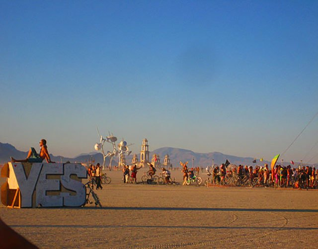 YES! (You know you wanna go to Burning Man…).