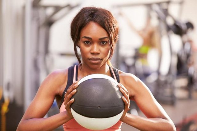 Try throwing a medicine ball for cardio.