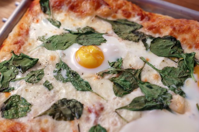 How to Put Eggs on Pizza