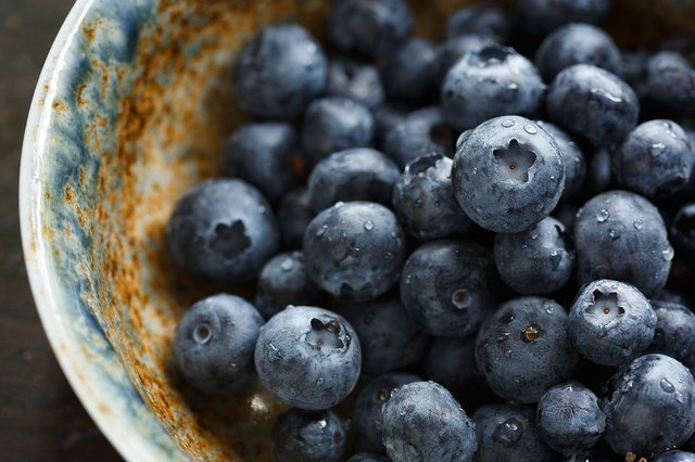 Blueberries are health superstars.