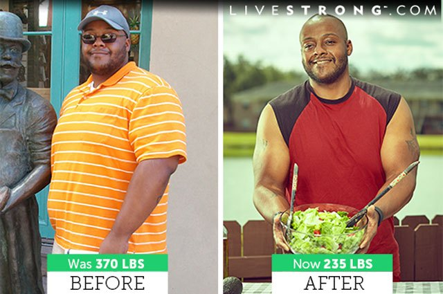 Lee lost 135 pounds in 8 months and has maintained his weight loss for 3 years.