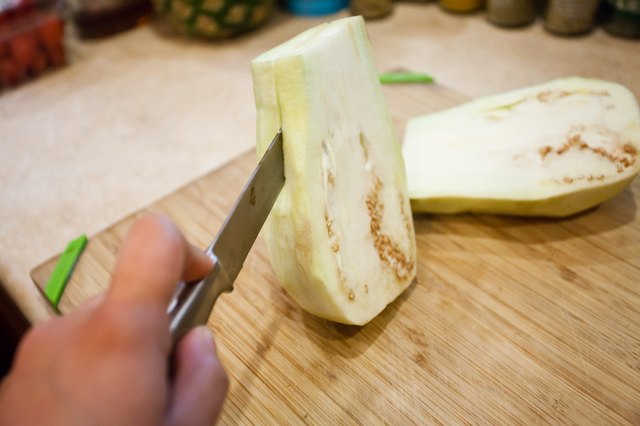 How to Cook a Small White Eggplant