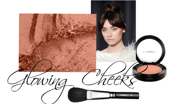 Don't look like an Oompa Loompa -- ditch the bronzer for blush.