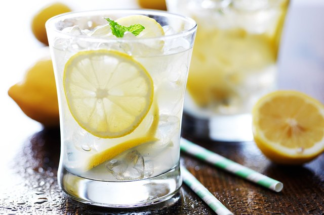 Try seltzer water with a splash of lemonade instead of  a sugary juice.
