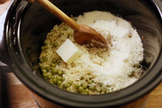 How to Cook Risotto in a Slow Cooker