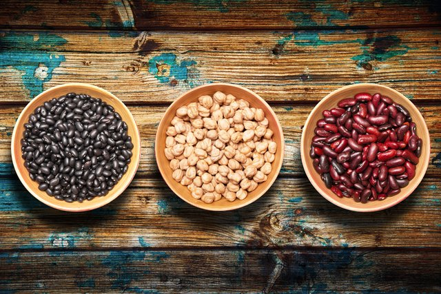 Legumes and other whole-food carbs have a lower glycemic index score.