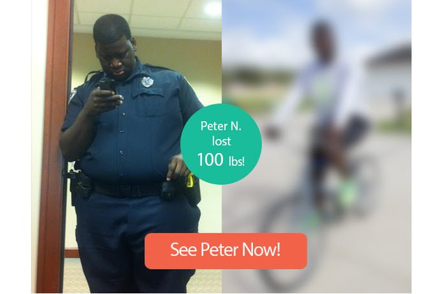 Read on to see Peter's impressive transformation.