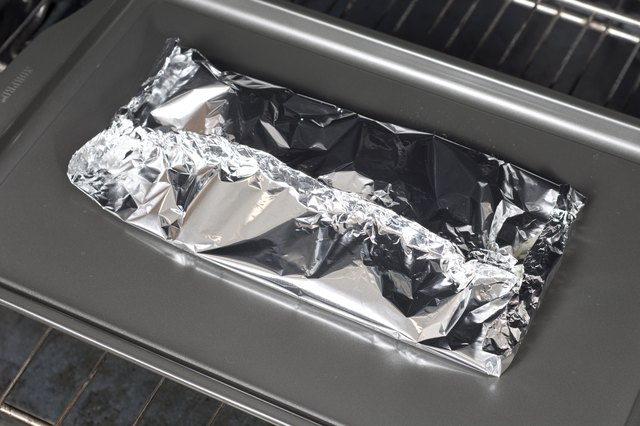 How to Oven Bake Chicken Tenders in a Foil Tent