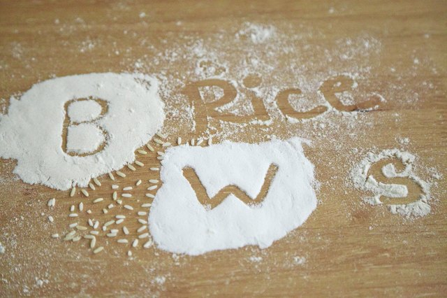 Baking With Almond, Rice & Coconut Flour