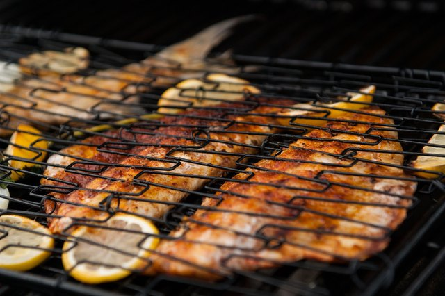 How to grill rock fish livestrong com for How to cook fish on the grill