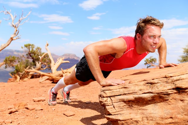 Try incline push-ups for an easier variation to get you started.