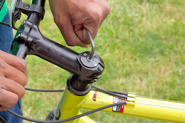 How to Fix a Loose and Rotating Bicycle Handlebar