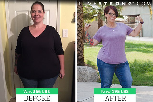 Amanda lost over 150 pounds and dropped 7 pant sizes (so far)!