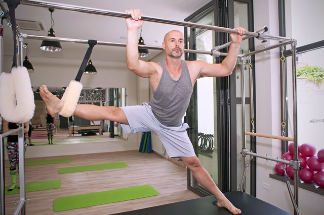 Lack of proper equipment could limit the kind of Pilates you can do.