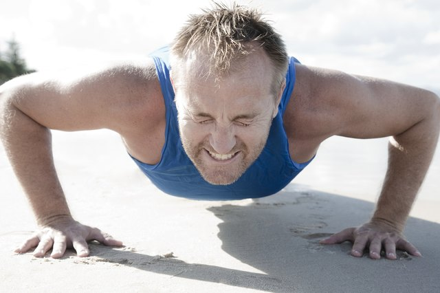 Push-ups are known for their chest strengthening power.